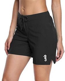 86ddf6d10ed6 Anfilia Pantalon Corto De Traje De Bano Para Mujer