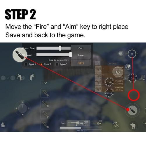 anfiner móvil juego controlador ( el más nuevo diseño ),