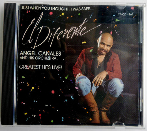 angel canales, el diferente, greatest hist live. cd