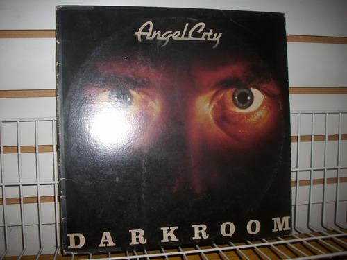 angel city - darkroom lp vinil importado en buen estado