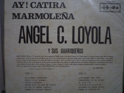 angel custodio loyola - catira marmoleña -   lp