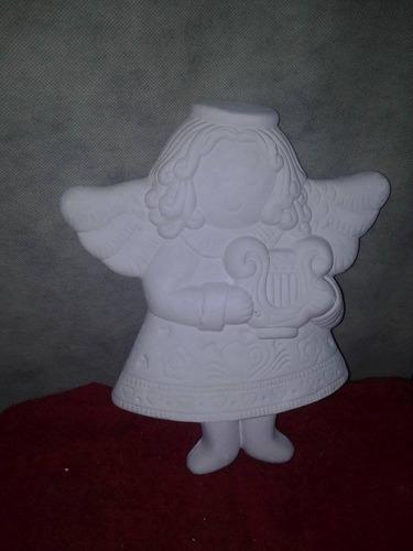 angel de la armonia para pared navideños