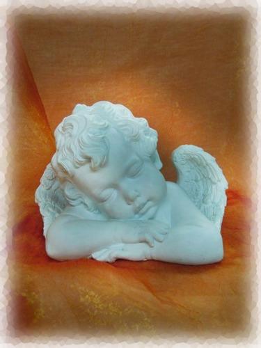 ángel de la guarda blanco. 30 cm. envío gratis.