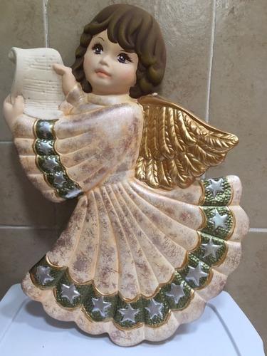 angel de la guarda de ceramica helen