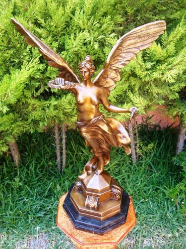 ángel de la independencia, precioso! hecho de bronce.