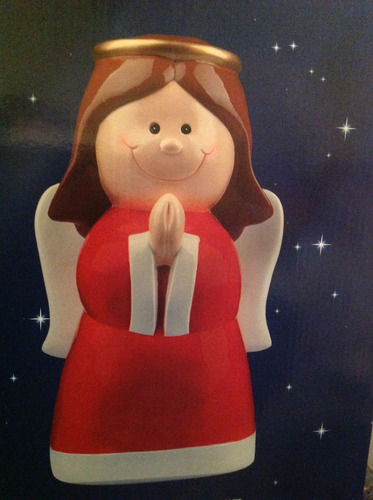 angel decorativo navideño 50 cm.