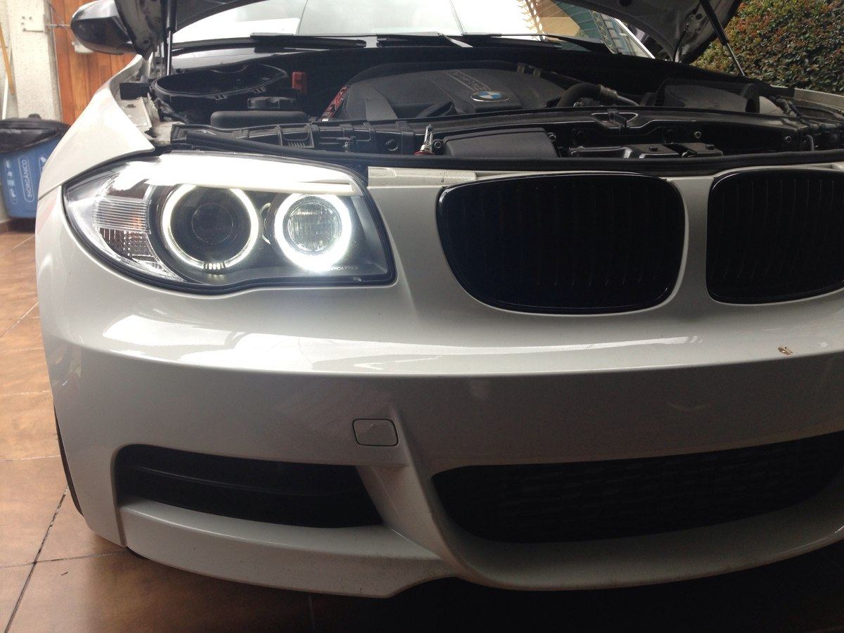 Angel Eyes White For Bmw Focus H8 Leds - 2,25000 In-3553