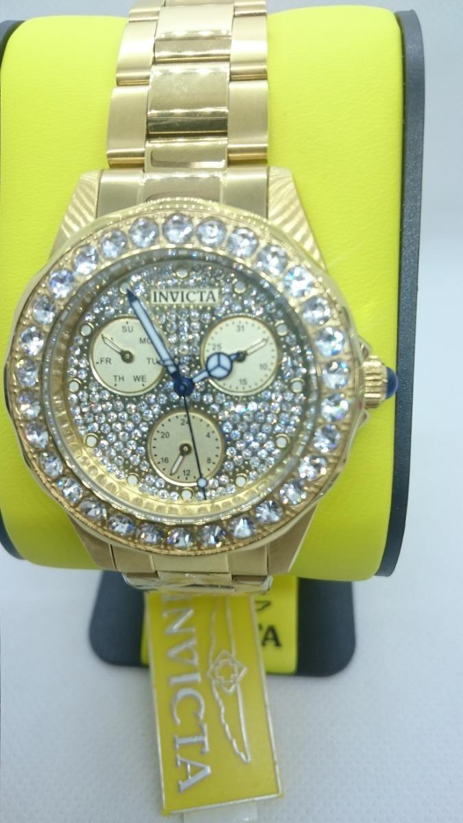 069b04d9c8d9 angel invicta modelo 28461 reloj de dama. Cargando zoom.