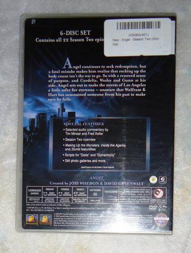 angel segunda temporada 2 dos dvd