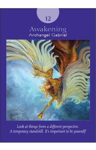 angel tarot cards, 78 cartas y libro guía, en ingles