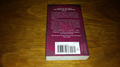 angel time - anne rice - em inglês - livro novo