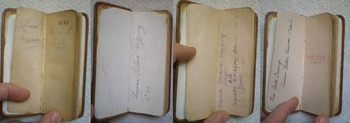 angel tutelar devocionario ordenado 1900 cuero 12x5 religión