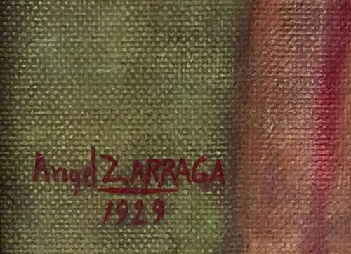 angel zarraga oleo/tela original