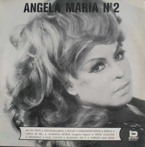 angela maria  lp angela maria no.2 - 1971