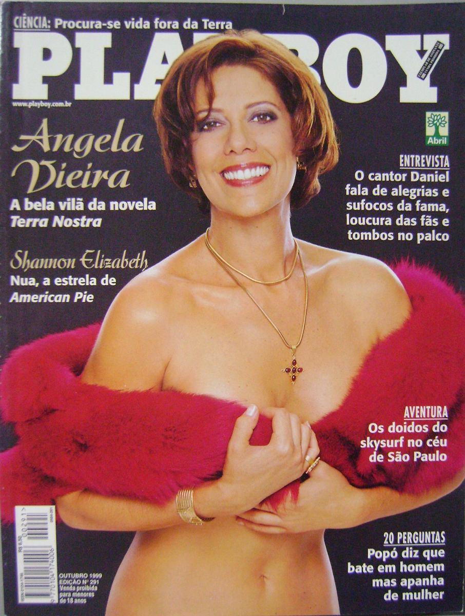 Angela Pelada angela vieira nua na playboy outubro de 1999