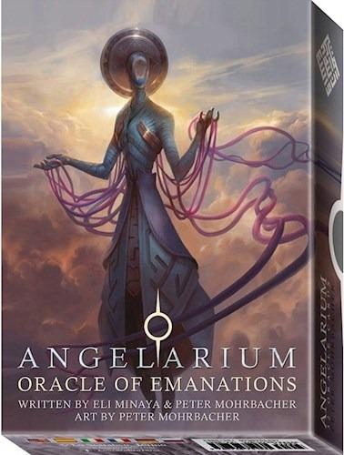 angelarium oracle emanation (libro + cartas), lo scarabeo