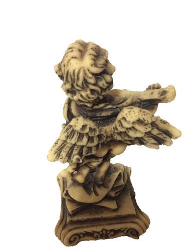 angeles angelitos adorno resina paquete de 4 piezas