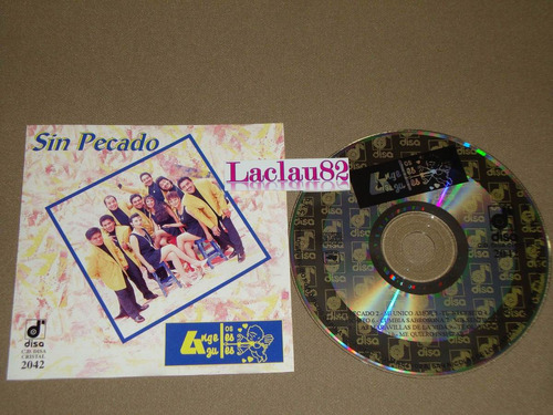 angeles azules sin pecado 1995 disa cd cumbia salsa