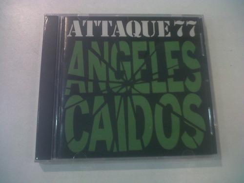 ángeles caídos, attaque 77 - cd 1992 nuevo cerrado nacional