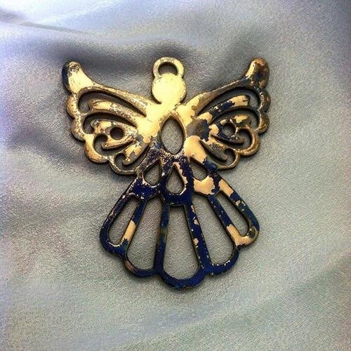 angeles  esmaltados en mdf