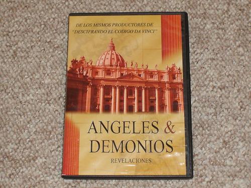 angeles y demonios. revelaciones.  dvd. documental.