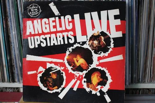 angelic upstarts  live importado lp uk