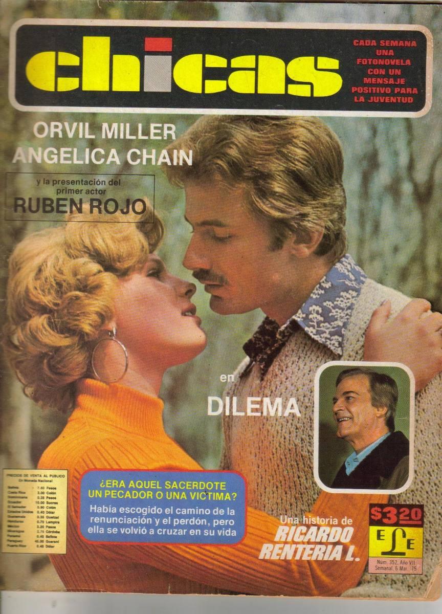 Angelica Chain,orvil Miller,ruben Rojo En: Fotonovela