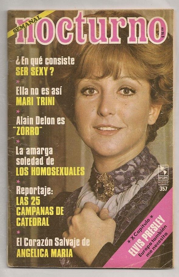 ang233lica mar237a coraz243n salvaje revista nocturno 1977