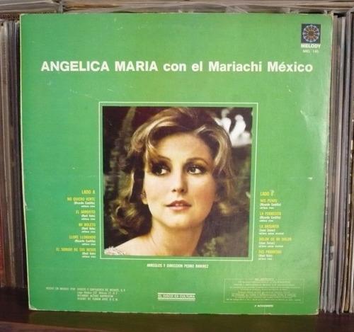 angelica maria lp con el mariachi mexico
