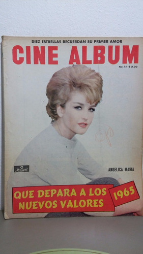 angelica maria revista cine album feb 1965