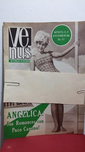 angelica maria revista venus oct 1965