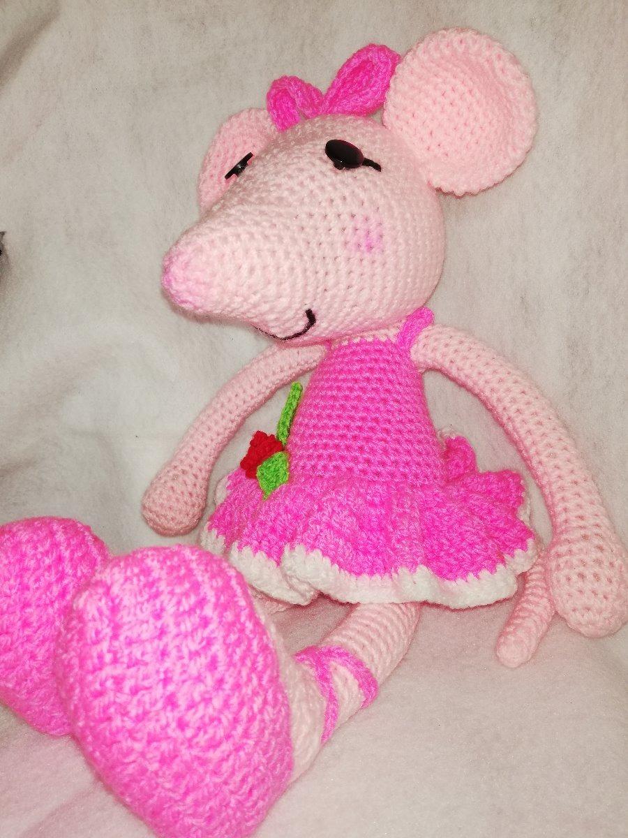 Annoo's Crochet World: Angelina Ballerina | 1200x900