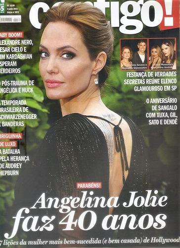 angelina jolie 40 anos revista contigo junho 2015 nova.