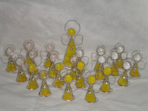 angelito souvenir bautismo/comunión lote x 10 unidades