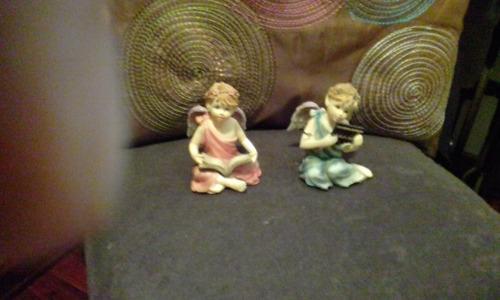 angelitos de porcelana