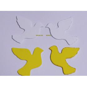 Angelitos Y Palomas X 24 Figuras Goma Eva  9 Cm