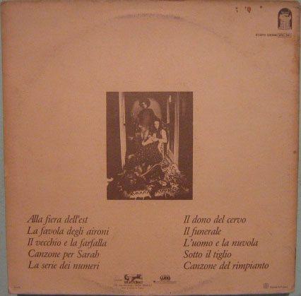 angelo branduardi - alla fiera dell'est - 1979 lp importado