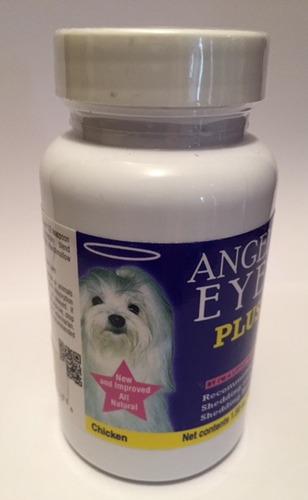 angels eyes clareador de pelos para cachorro sabor frango 45