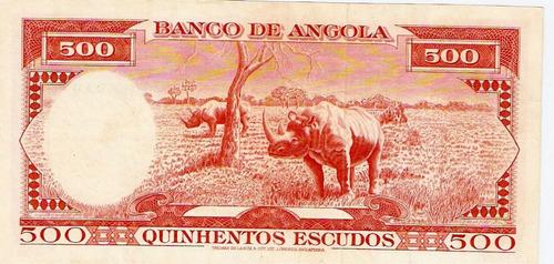 angola 500 escudos 1970 p. 97 s/fe cédula - tchequito