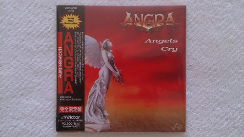 angra - angels cry mini lp andre matos japan