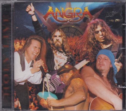 angra - cd holy live - 1997 - ( andré matos)