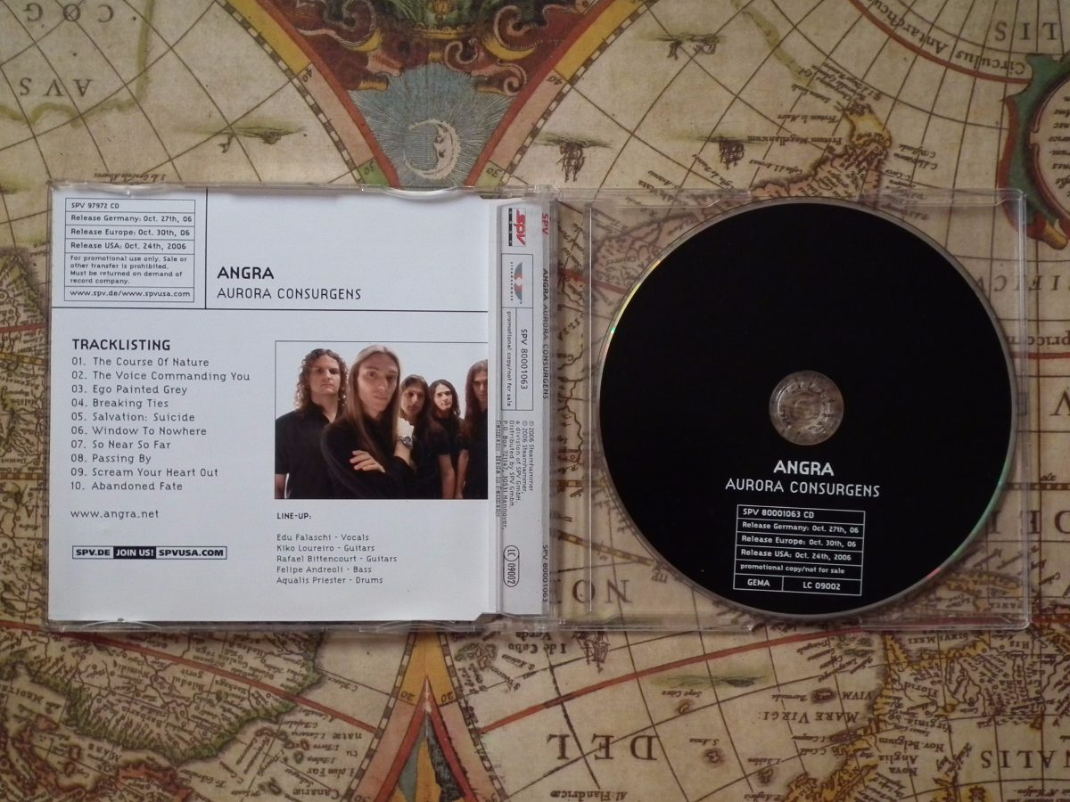 cd angra aurora consurgens