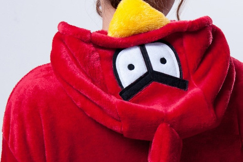 angry bird unisexo pijama disfraz termico