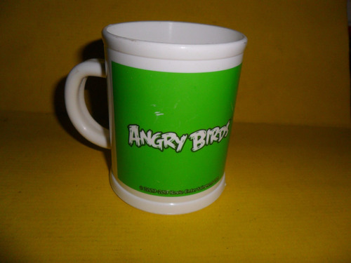 angry birds 2013 rovio  vaso vasito taza plastica