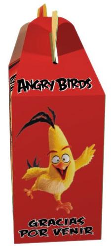 angry birds cajita x 30 valijita infantil souvenir combo