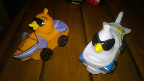 angry birds - carritos de jebe