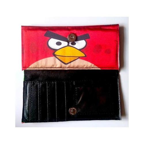 angry birds cartera larga pig red