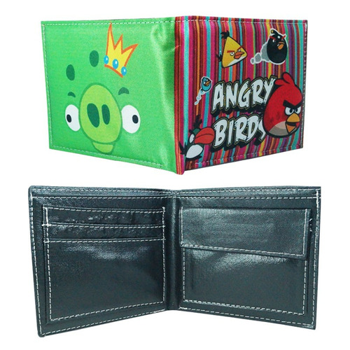 angry birds cartera red chuck bomb blue pig