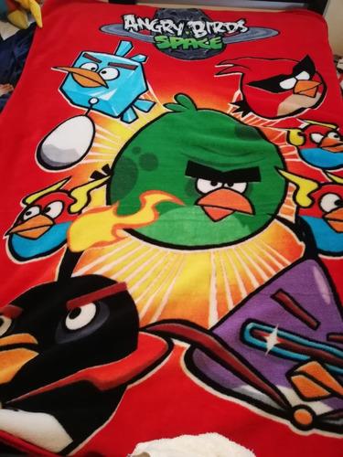 angry birds cobertor colcha edredon almohadas peluches pack