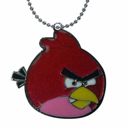 angry birds dije collar red